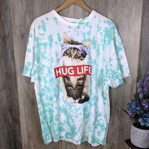 Hug Life Cat Unisex T-Shirt 2XL
